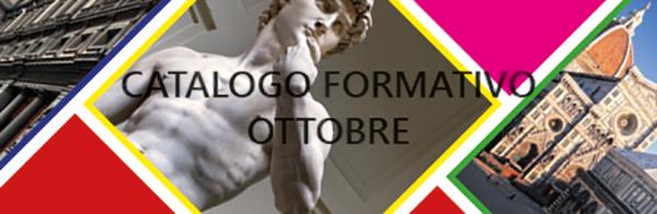 AGGIORNAMENTO CATALOGO FORMATIVO OTTOBRE 2016